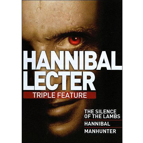 Hannibal Lecter Triple Feature: Hannibal / Manhunter / Silence Of The Lambs