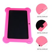 """Kids Tablet 7"""" Quad-Core Tablet 512M+8GB WIFI MID Dual Cameras with US Plug (Pink)"""