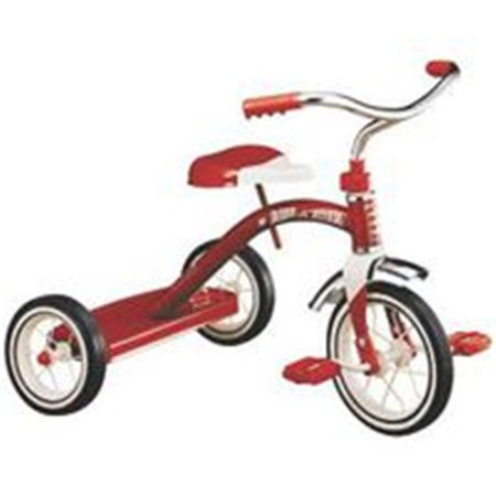 Radio Flyer Classic 10 Inch Toddler Tricycle with Rubber Tires and Steel Frame - Flyer Flies