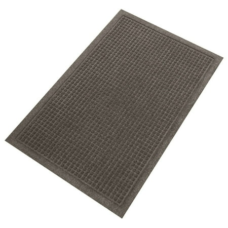Guardian EcoGuard Indoor Wiper Floor Door Mat, Recycled Plastic and Rubber, -