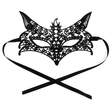 Women Fox Shaped Sexy Masquerade Costume Fancy Party Eyemask Lace Eye Mask - Masquerade Masks For Women