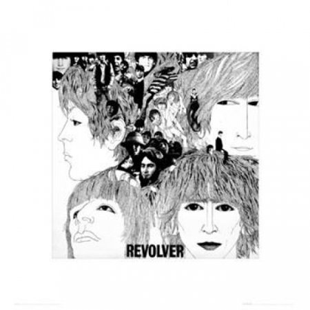 Beatles - Revolver Poster Poster Print
