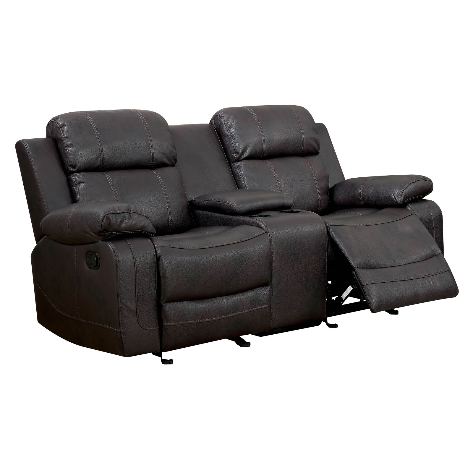 Furniture of America Milton Reclining Loveseat