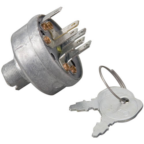 Briggs & Stratton 5411K Genuine 6 Terminal Ignition Switch 092377MA with Key Set 691959 Fits Most Electric... by Briggs %26 Stratton