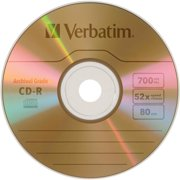Verbatim UltraLife CD Recordable Media - CD-R - 52x - 700 MB