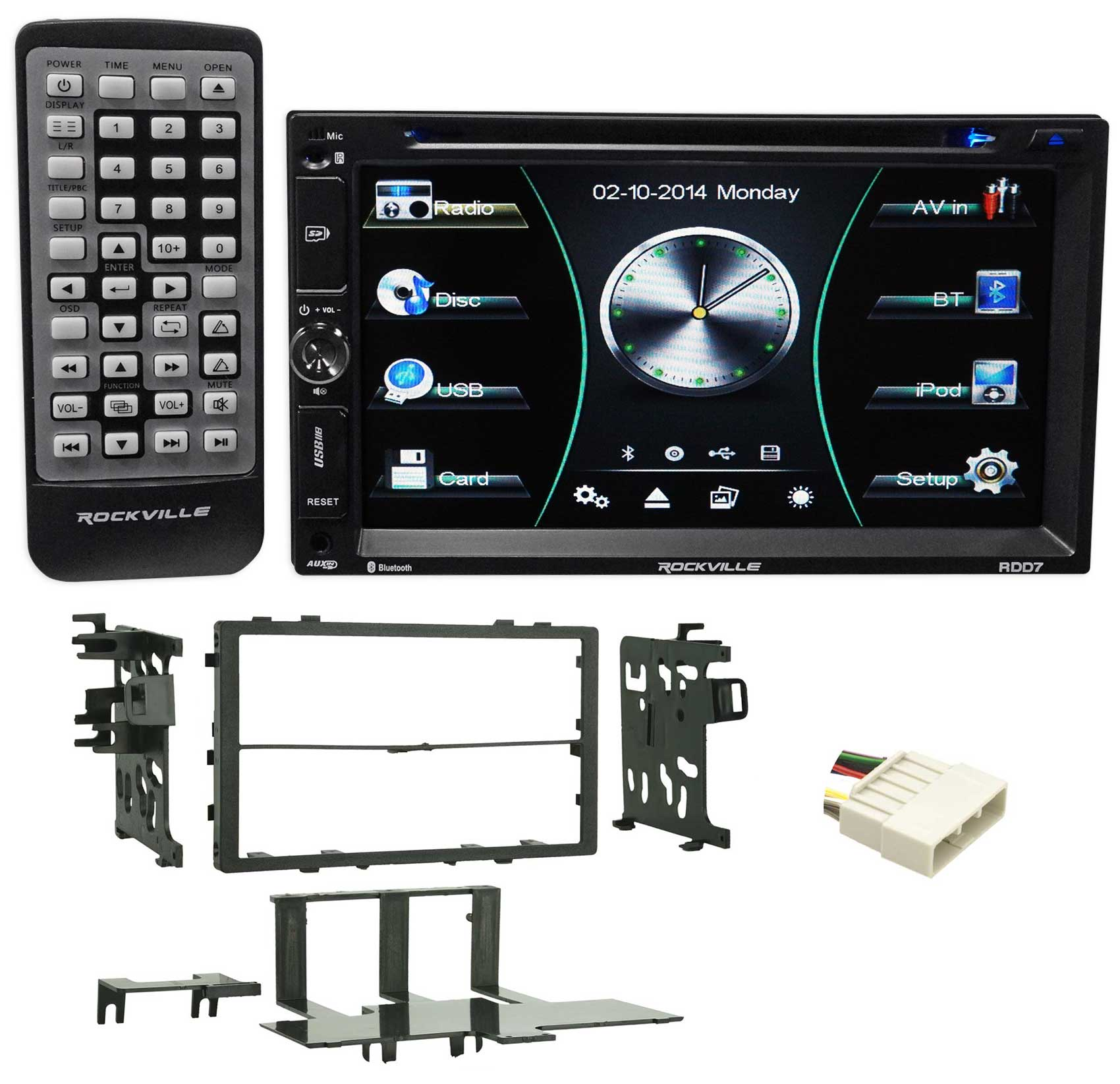 DVD/iPhone/Android/Spotify/Bluetooth/USB Player Receiver For 91-95 Acura Legend