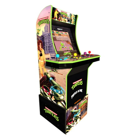 Teenage Mutant Ninja Turtles Arcade Machine w/ Riser, Arcade1UP Own Arcade Machine