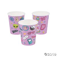 90s Paper Cups