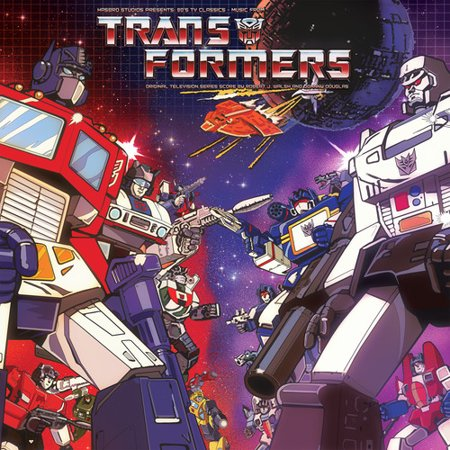 Transformers (Hasbro Studio Presents '80s TV Classics - Music From Transformers) (Vinyl) (Limited Edition) (80s Metal 2nd Edition)