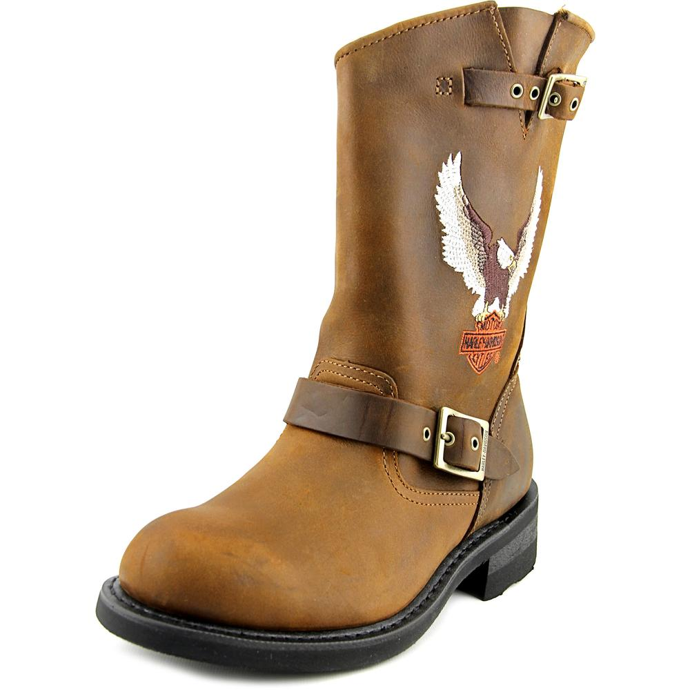 Harley Davidson Jerry Men   Leather  Motorcycle Boot
