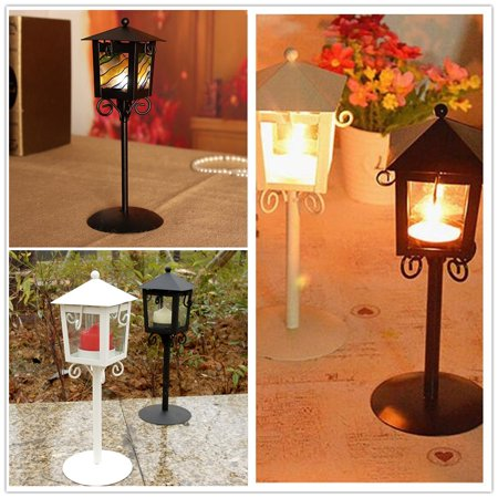 Girl12Queen Romantic Candle Holder Stand Antique Vintage Style Lantern Wedding Decor Gift