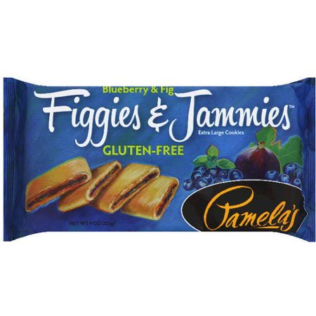 Pamela's Blueberry & Fig Figgies & Jammies Extra Large Cookies, 9 oz, (Pack of - Large Delicious Gourmet Cookies