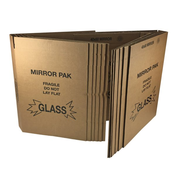 Amp Mirror Moving Boxes 8 Sets, 40 X 60 Mirror Box