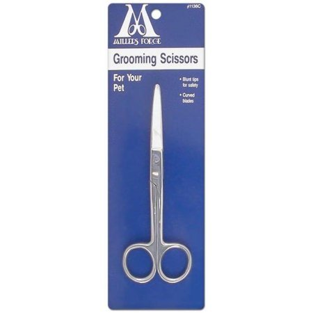 - Millers Forge Curved Blade Pet Grooming Scissors