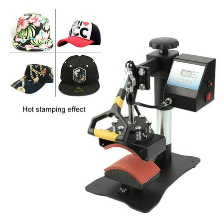 sale heat press machine cap plate press machine hat heat ...