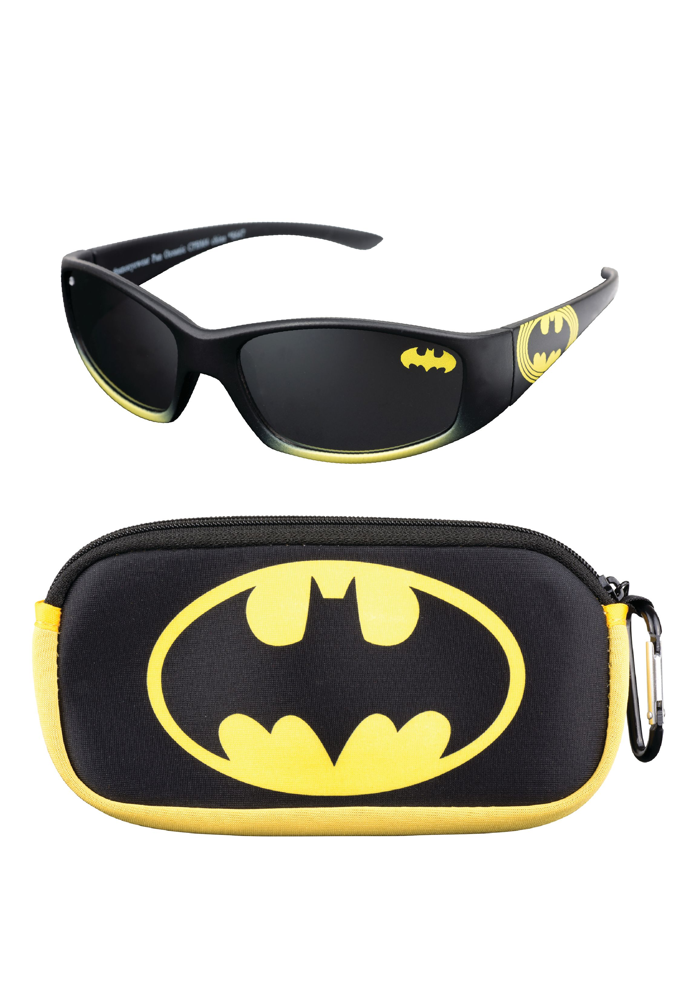 Batman Soft Case and Kid's Sunglasses Set