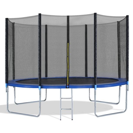 12FT Trampoline Combo Bounce Jump Safety Enclosure Net W/Spring Pad Ladder - image 10 of 10