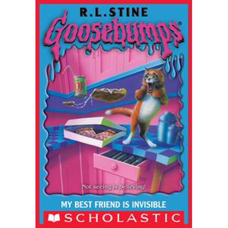 Goosebumps: My Best Friend Is Invisible - eBook