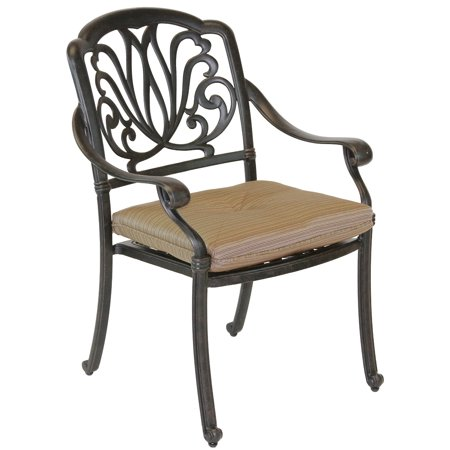 Elisabeth Cast Aluminum Patio Dining Chair
