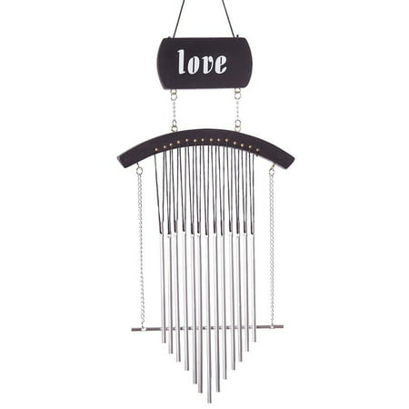 Hand Tuned Aluminum Feng Shui Wind Chime for Patio, Garden, Terrace and Balcony - Beautiful Outdoor Decor WIN-YX2