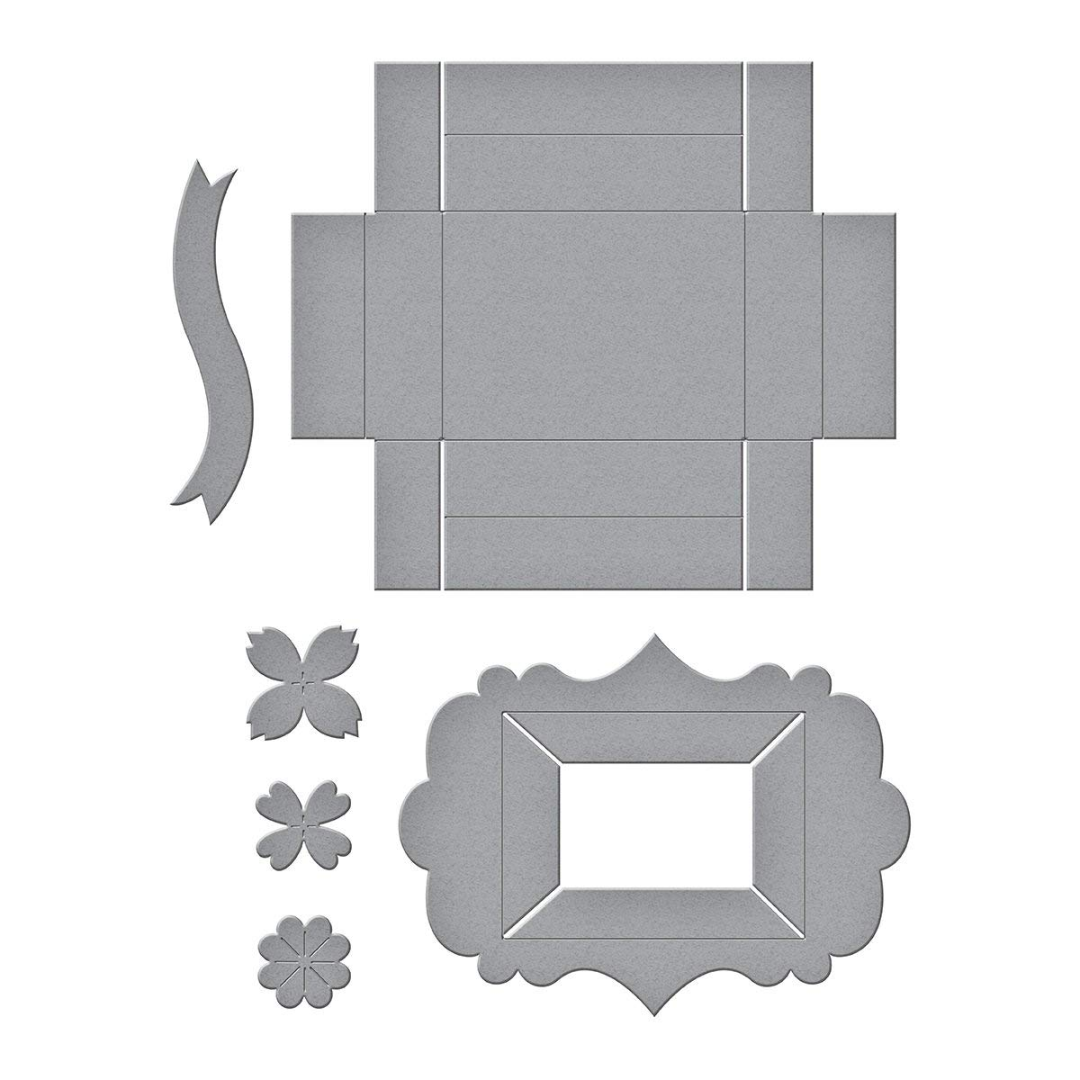 Shapeabilities Tiny Shadow Box Etched/Wafer Thin Die, Spellbinders die templates are perfect for cards, tags, scrapbooking and more By Spellbinders