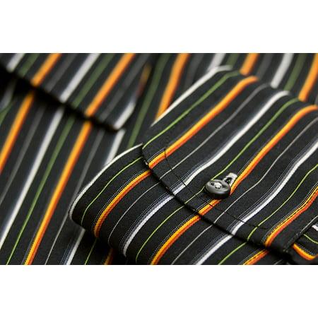 Canvas Print Attire Shirt Clothing Smart Apparel Men's Shirt Stretched Canvas 32 x 24 - Mens 1920s Attire