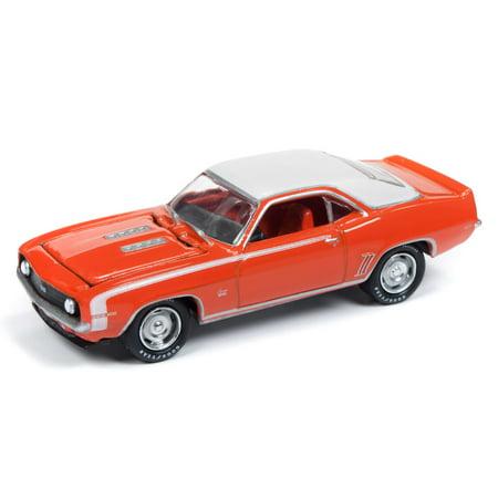 Johnny Lightning JLMC019 Muscle Car 1969 Chevy Camaro VER B Hugger