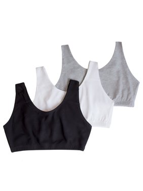 24c4cb93c1681 Product Image Fruit of the Loom Women s Tank Style Sports Bra 3-Pack