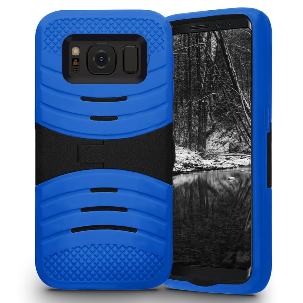 Samsung Galaxy S8 / S8 Plus Case, Zizo UCASE Tuff Dual Layered Cover w/ Kickstand