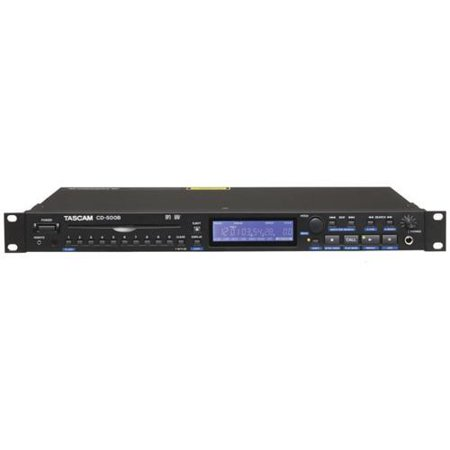 Tascam CD-500B Single Rackspace CD Player with Balanced Outs