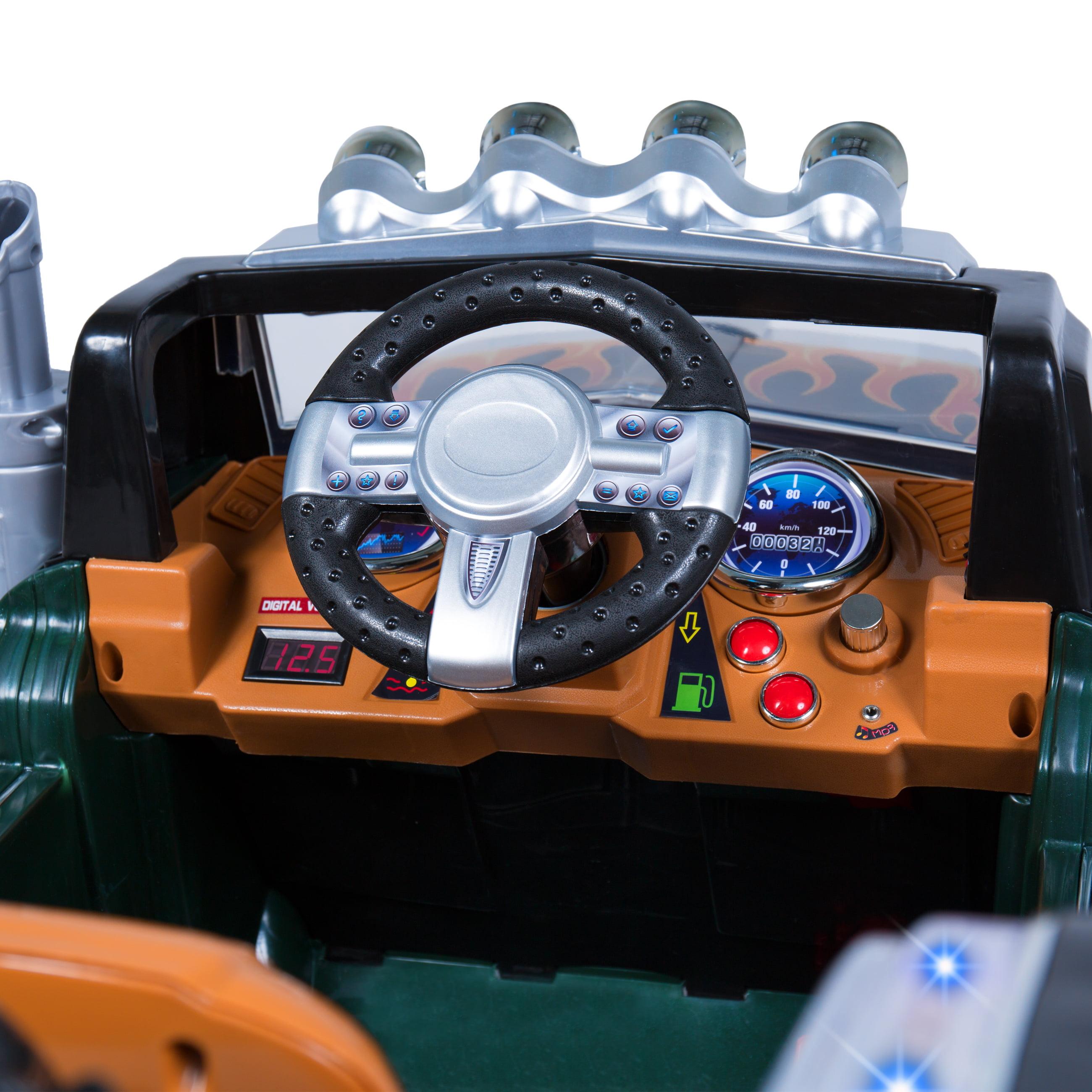 Best Choice Products 12V Ride On Semi Truck Kids Remote Control Big – Semi Truck Garage Plans