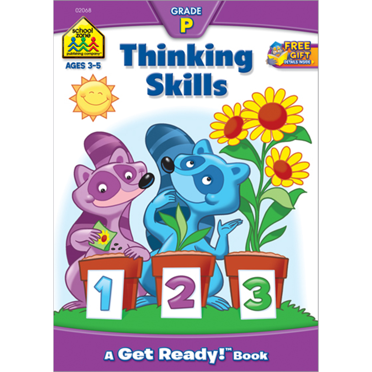 School Zone Preschool Workbooks 32 Pages-Thinking Skills by School Zone
