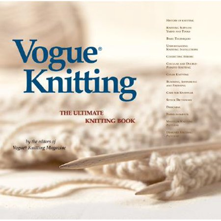 Rowan Knitting Magazine (Vogue(r) Knitting the Ultimate Knitting Book )