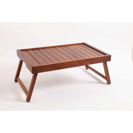 Gibson Home Brede Bed Tray  Acacia Wood