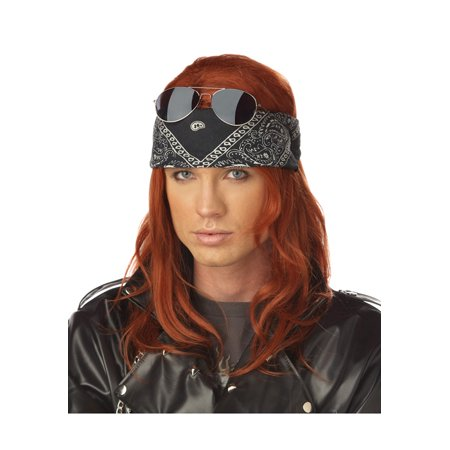 Hollywood Rocker Costume Wig - Auburn Wigs