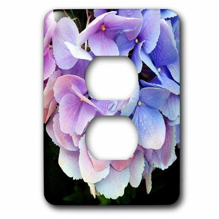 3dRose Purple Hydrangea 2 Plug Outlet Cover lsp 28337 6