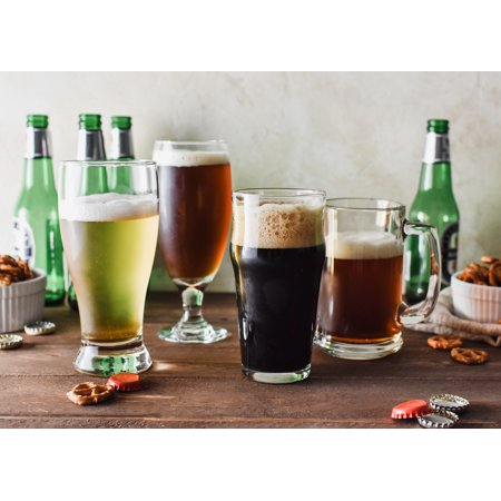 Beer Glass Set - Better Homes & Gardens Variety Beer Glass Set, 4 Pieces