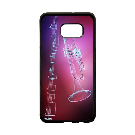 Musical Instruments Design Black Plastic Protective Phone Case That Is Compatible with the Samsung Galaxy s8 Plus / s8+ / s8P