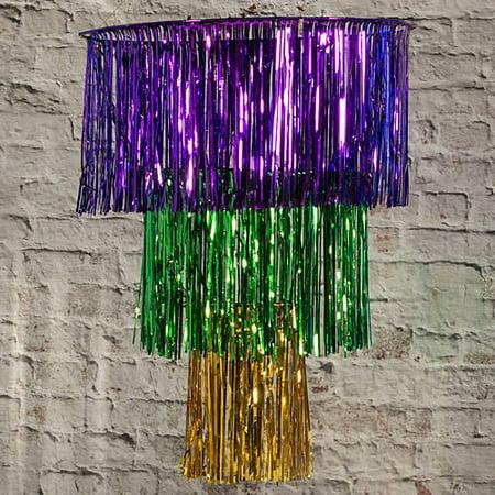 Mardi Gras Chandelier](Mardi Gras Home Decor)