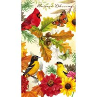 Paper Guest Towel, 15 count, Give Thanks Cardinal