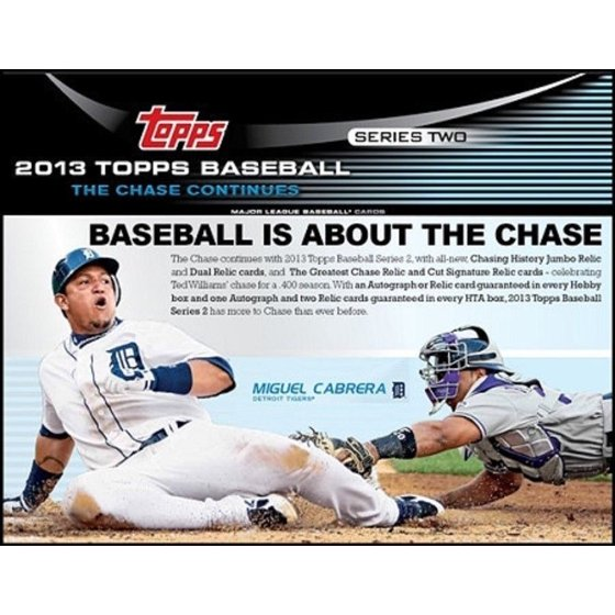2013 Topps Series 2 Baseball Jumbo Hta Box