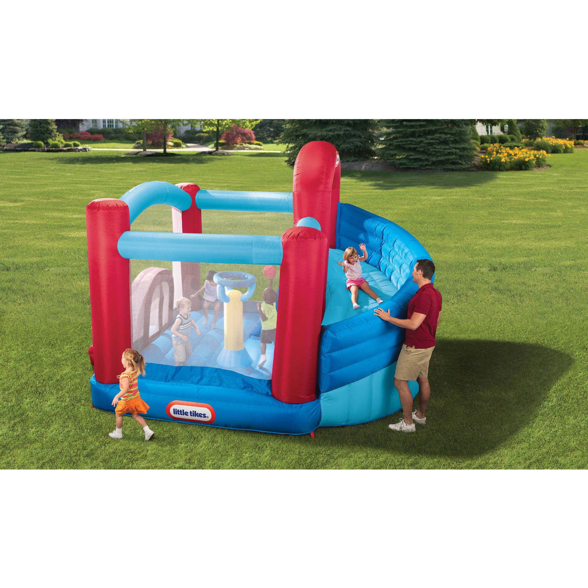 Little Tikes Super Spiral Bouncer Walmart