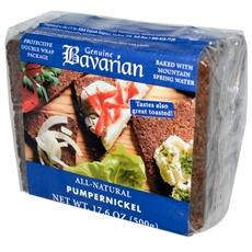 Bavarian Breads Organic Pumpernickel Bread (6x17.6oz) by GENUINE BAVARIAN