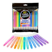 Crayola Take Note Erasable Highlighters, Assorted Colors, Child,14 Count