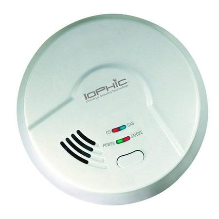USI Electric MDSCN111 4-in-1 Universal Smoke Sensing Technology Hardwired Smart Alarm