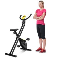 Costway Foldable Exercise Bike Compact Indoor Cycling Home Workout Equipment
