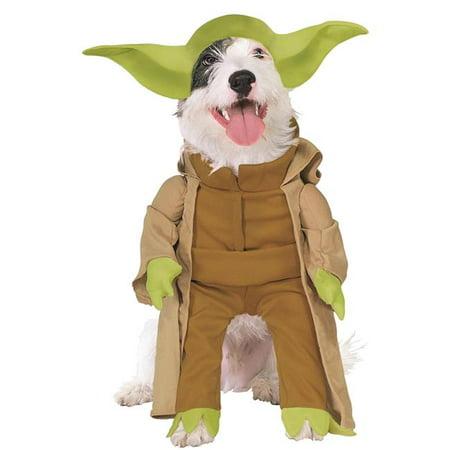 Star Wars Yoda Dog Costume, - Star Wars Dog Accessories