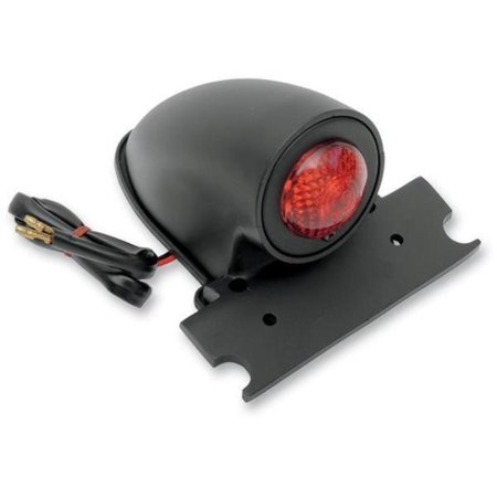 Drag Specialties 2010-0603 50s Style Chopper Taillight - Black - 50s Biker