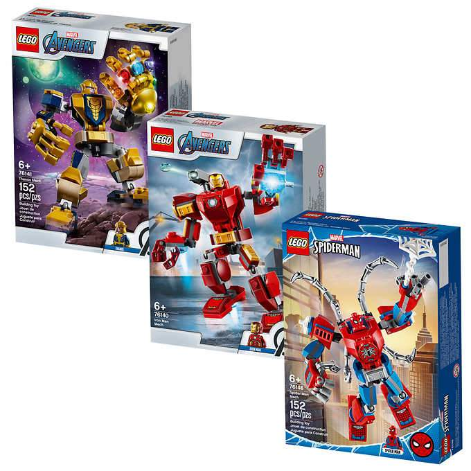 LEGO super heroes tri pack 452 pieces