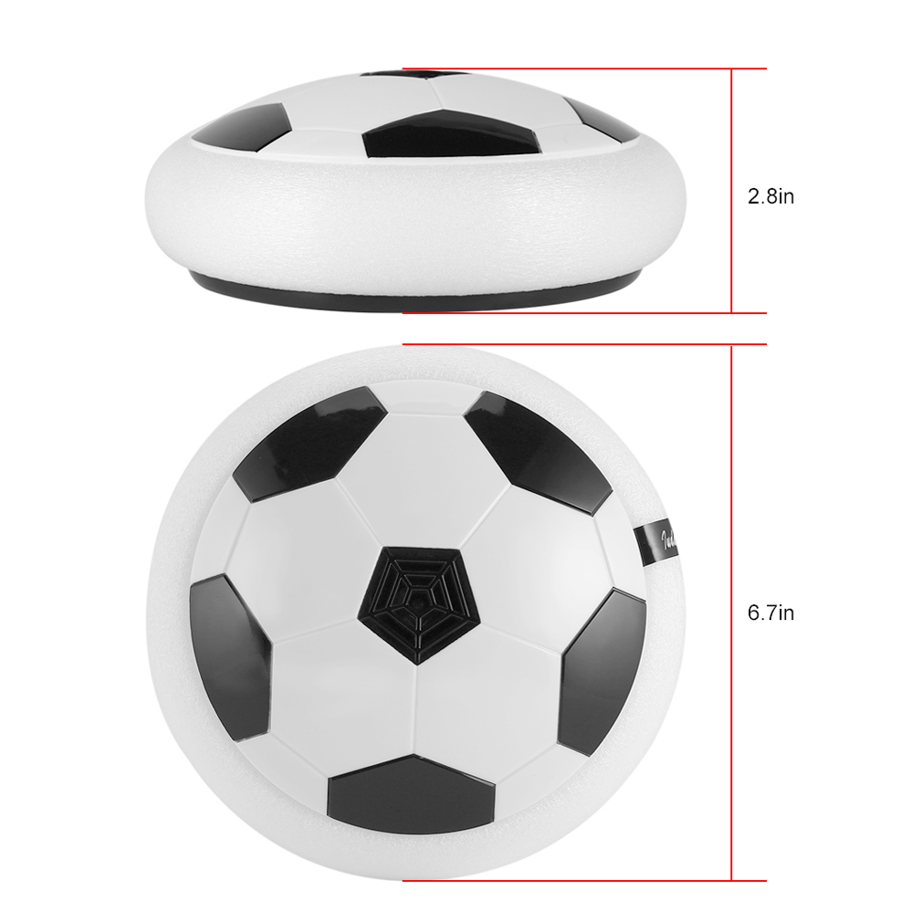 Air Power Soccer Disc Indoor Football Toy Multi-surface Hovering Gliding Toy by